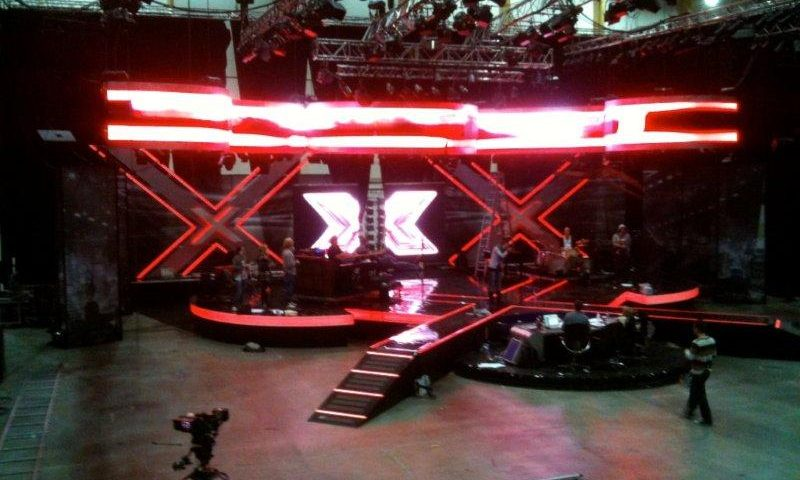 Visualed ready for X-Factor // November, Norway